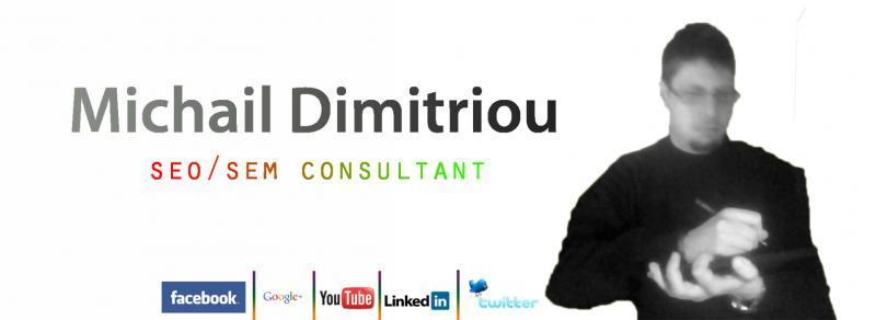 Michail Dimitriou | e-marketing consultan | SEM SEO Expert